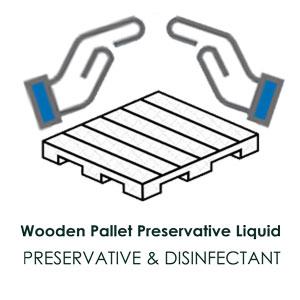 محلول نگهدارنده و ضدعفونی کننده پالت چوبی
